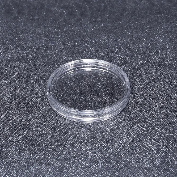 送料無料 27mm コイン カプセル 500円 記念 硬貨 メダル ケース 金貨 銀貨 収納 保管 100個 セット_画像2