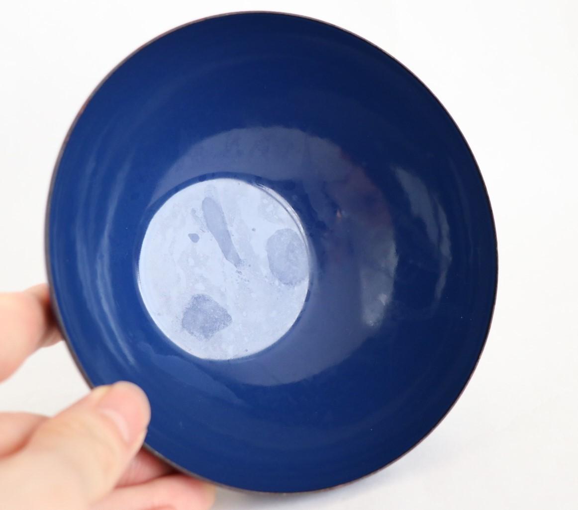 キャサリンホルム 青色 ボウル 14cm_画像2