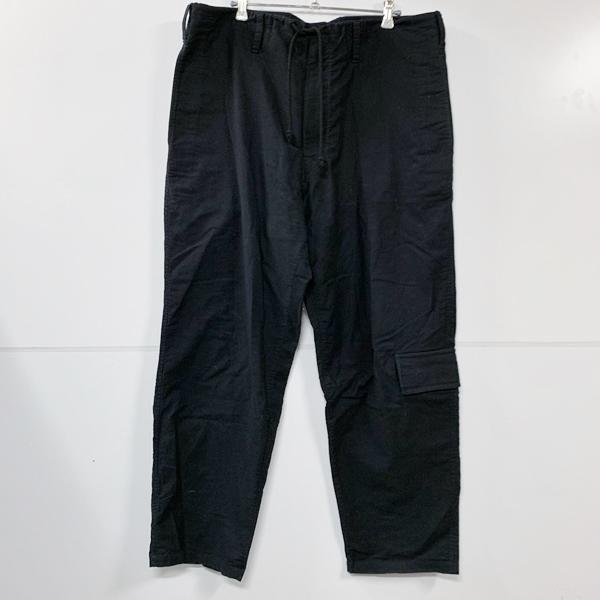 Yohji Yamamoto pour homme ヨウジヤマモトプールオム 18SS 定番紐パンツ ワイドパンツ 3 ブラック_画像1