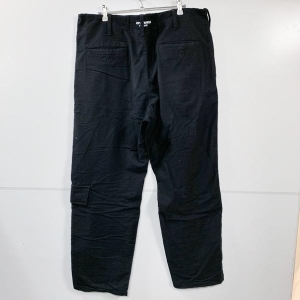 Yohji Yamamoto pour homme ヨウジヤマモトプールオム 18SS 定番紐パンツ ワイドパンツ 3 ブラック_画像2