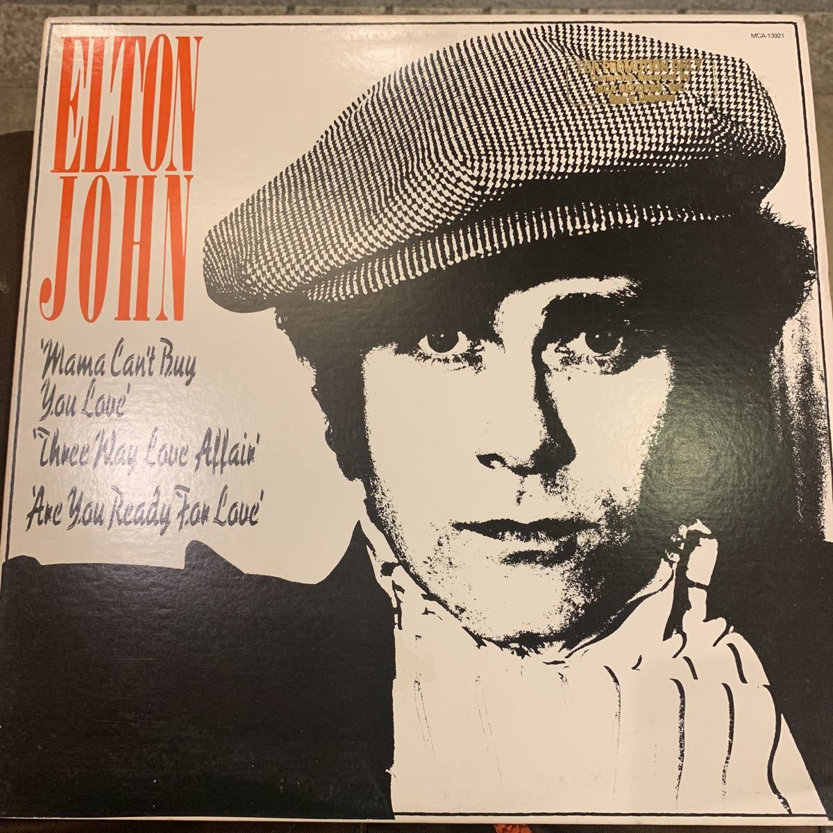 Elton John 「Mama Can't Buy You Love」プロモ盤 中古レコード_画像1