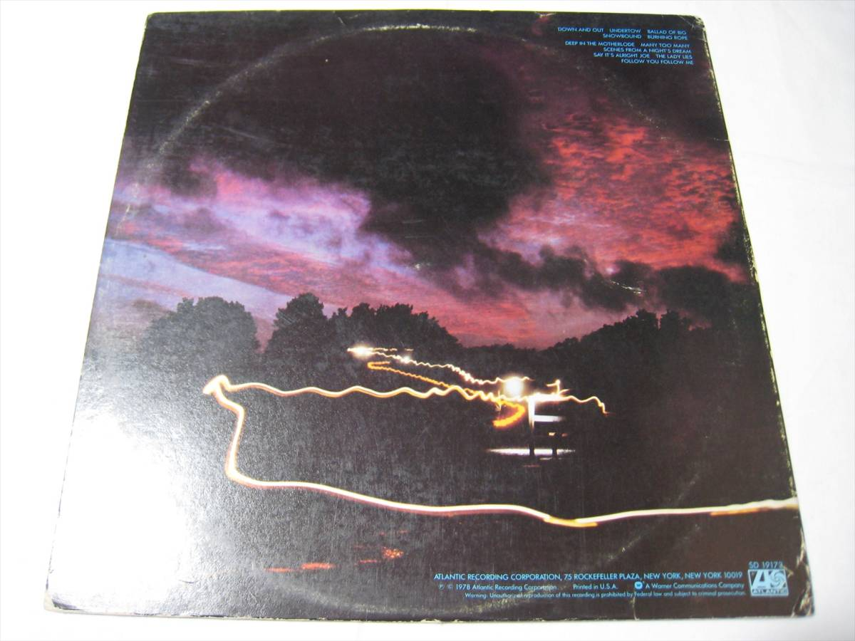 【LP】●プロモ● GENESIS / ..AND THEN THERE WERE THREE... US盤 ジェネシス そして三人が残った FOLLOW YOU FOLLOW ME 収録_画像3