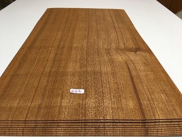 送料無料 超巾広シマチーク輝模様 ヤニ壺 突板材 長460x270ミリ 9枚 Zチ4 薄板 ツキイタ 突板 単板