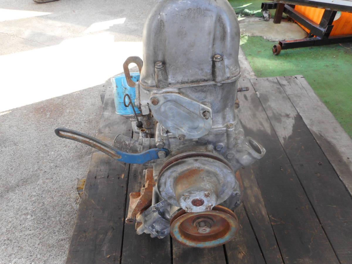 日産 純正 L20B エンジン本体 ブロックU94 ヘッドV91 ブルーバード スカイライン 中古品_画像4
