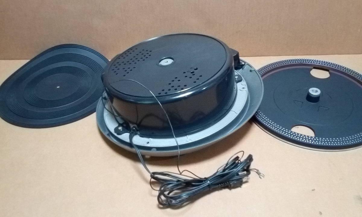 DENON 綺麗 ダイレクトドライブ・サーボターンテーブル DP-1000 ジャンク品_画像7
