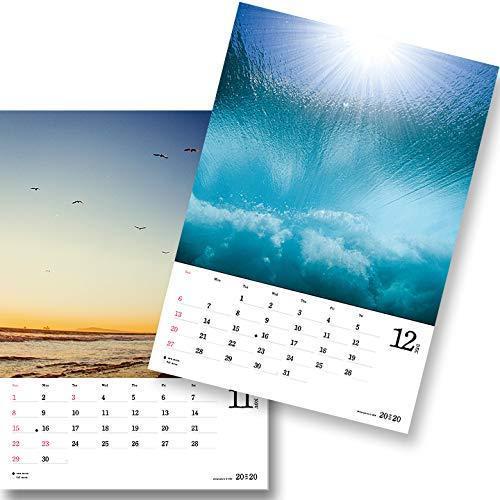 送料無料!!/写心家/U-Ske/2020/サーフィンフォトカレンダー/surf/waves/love/メール便対応 /自然や海のバイブレーションを感じる!_画像7