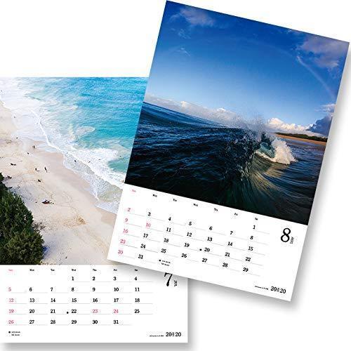 送料無料!!/写心家/U-Ske/2020/サーフィンフォトカレンダー/surf/waves/love/メール便対応 /自然や海のバイブレーションを感じる!_画像5