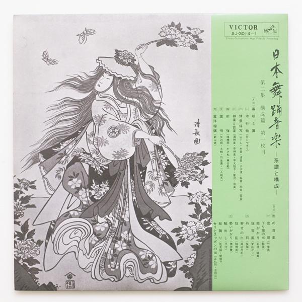美盤 第二十回芸術祭参加 日本舞踊音楽 系譜と構成 第二集 構成篇 監修:河竹繁俊、構成・解説:郡司正勝・望月太意之助 1965年 BOX3LP_画像8