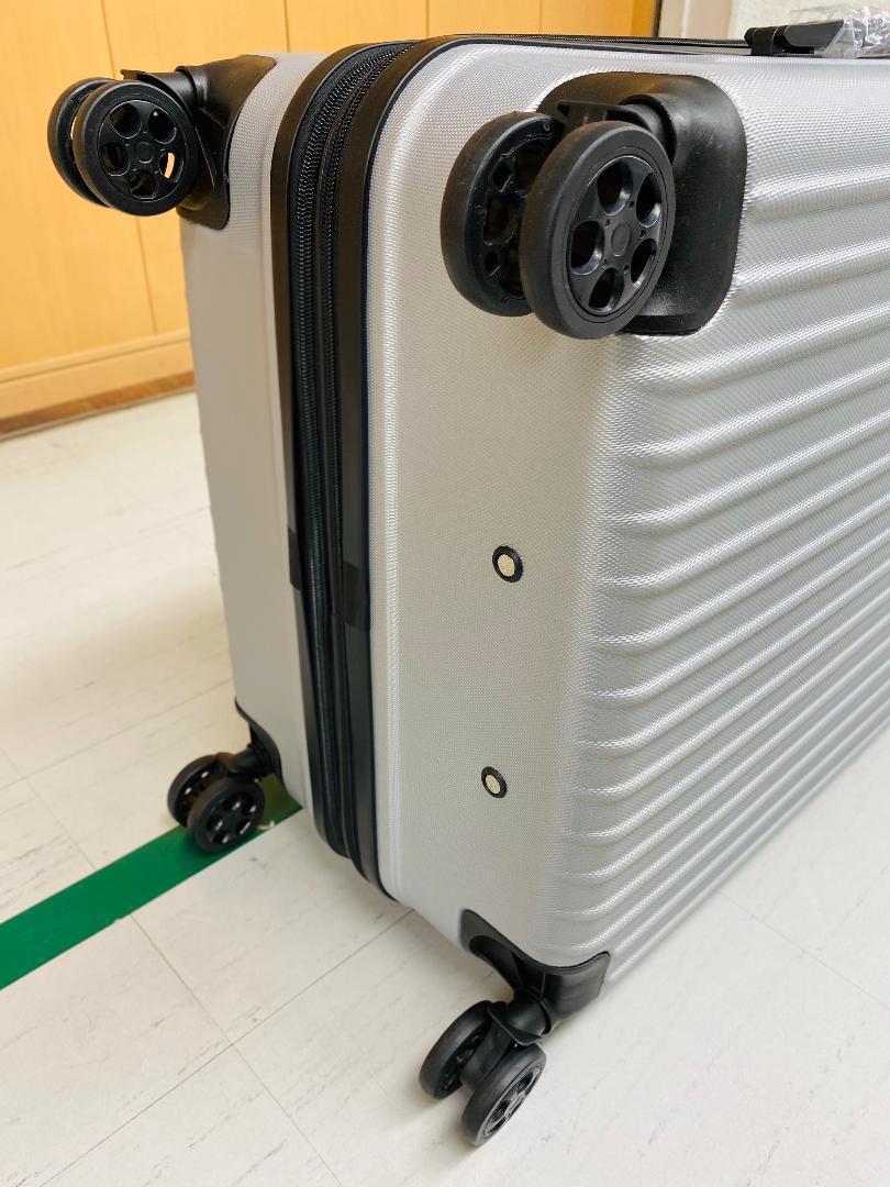 小型軽量スーツケース8輪静音キャリーバッグ 機内持ち込みSサイズ 黒_画像6