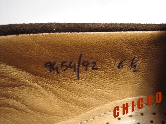 即決★25cm イタリア製 Church's チャーチ コインローファー メンズ 6.5 茶 本革 スエード ペニーローファー ビジネスシューズ レザー 革靴_画像10