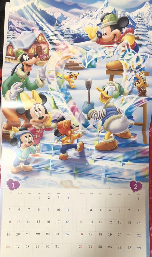 2020年 ドコモディズニーカレンダー!!壁掛け用 1冊_画像4
