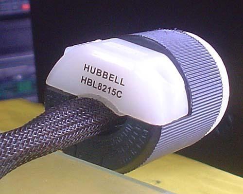 HUBBELL/HOSPITAL GRADE 『HBL-8215C』 プラグ 電源ケーブル 1m_画像4