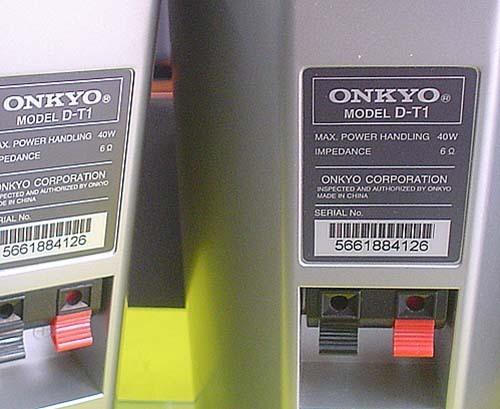 ONKYO/コンパクトサイズ・スピーカー『D-T1』×2_画像6