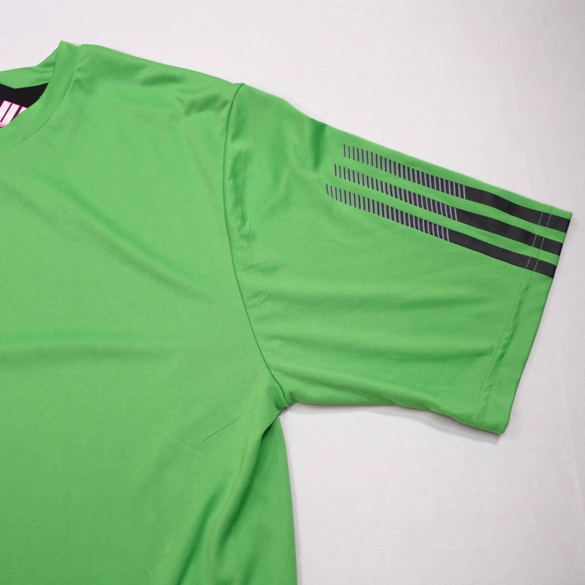 アディダス adidas Tシャツ 半袖 メンズ M クルーネック ワンポイントロゴ 三本ライン スポーツ カジュアル USA直輸入 古着 MAD-1-1-0037_画像7