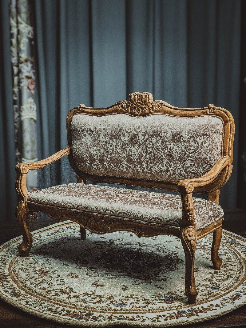 数量限定 10%OFF BJD用家具 ソファー SD/DD/70cmサイズ通用 椅子 生地のオーダー可能です 復古 ドール用 doll 球体関節人形用 撮影_画像1