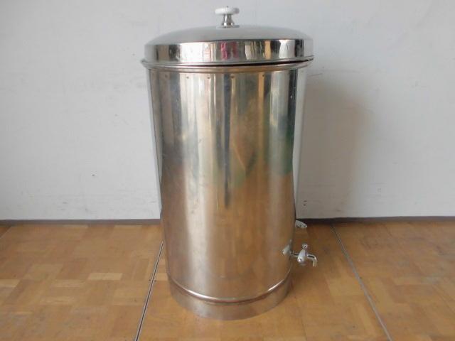 中古厨房 貯蔵タンク 蛇口3本付き 醸造 貯水 貯湯 W575×D580×H925mm_画像5