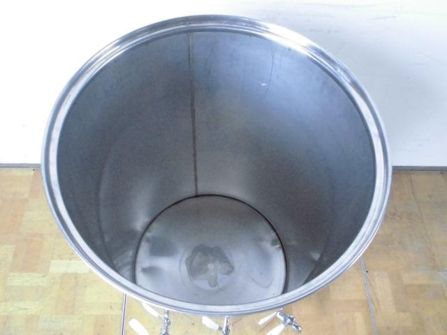 中古厨房 貯蔵タンク 蛇口3本付き 醸造 貯水 貯湯 W575×D580×H925mm_画像2