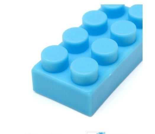 F554 60グラム約70個 プラスチック製のビルディングブロックブリック 子供子供教育 パズルおもちゃモデルビルキットキッズギフト_画像4