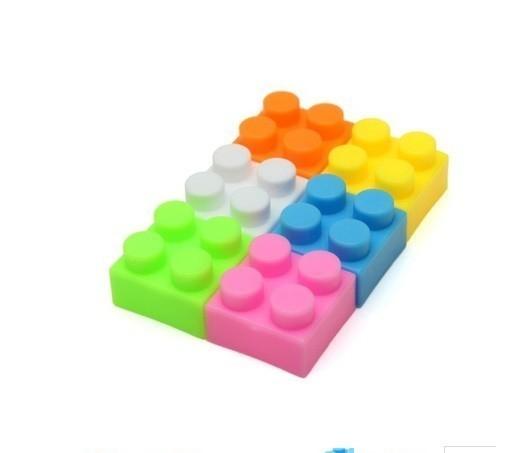 F554 60グラム約70個 プラスチック製のビルディングブロックブリック 子供子供教育 パズルおもちゃモデルビルキットキッズギフト_画像6