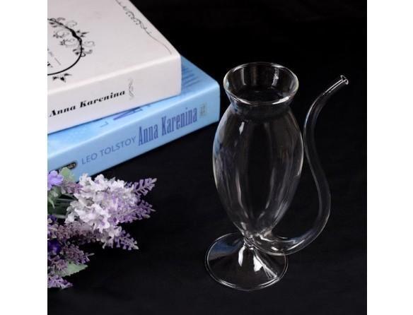b376 おもしろグッズ クリスタル 透明 ディルド シリケートス パーティー ショットグラス カップ お酒 ウィスキー  アダルト_画像2