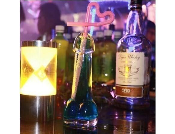b376 おもしろグッズ クリスタル 透明 ディルド シリケートス パーティー ショットグラス カップ お酒 ウィスキー  アダルト_画像6