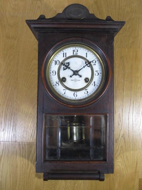 ☆☆☆☆☆ セイコー舎 ホーロー文字板 柱時計 動きます