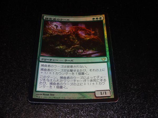FOIL/捕食者のウーズ/Predator Ooze/闇の隆盛/日本語版/MTG1枚_画像1