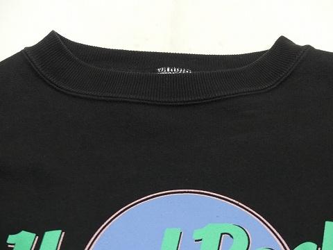 大き目サイズ 美品 90s ビンテージ Hard Rock CAFE LONDON ハードロック カフェ オフィシャル スウェット XL 70s 80s_画像5