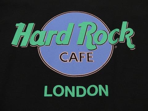 大き目サイズ 美品 90s ビンテージ Hard Rock CAFE LONDON ハードロック カフェ オフィシャル スウェット XL 70s 80s_画像6
