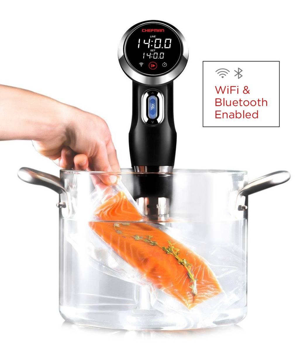 ★開封未使用 CHEFMAN Sous Vide Precision Cooker サーキュレーター タッチスクリーン Wifi & Bluetooth