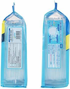 (個別包装) フィッティ 7DAYS マスク EX エコノミーパックケース付 30枚入 ふつうサイズ ホワイト PM2.5対応_画像3