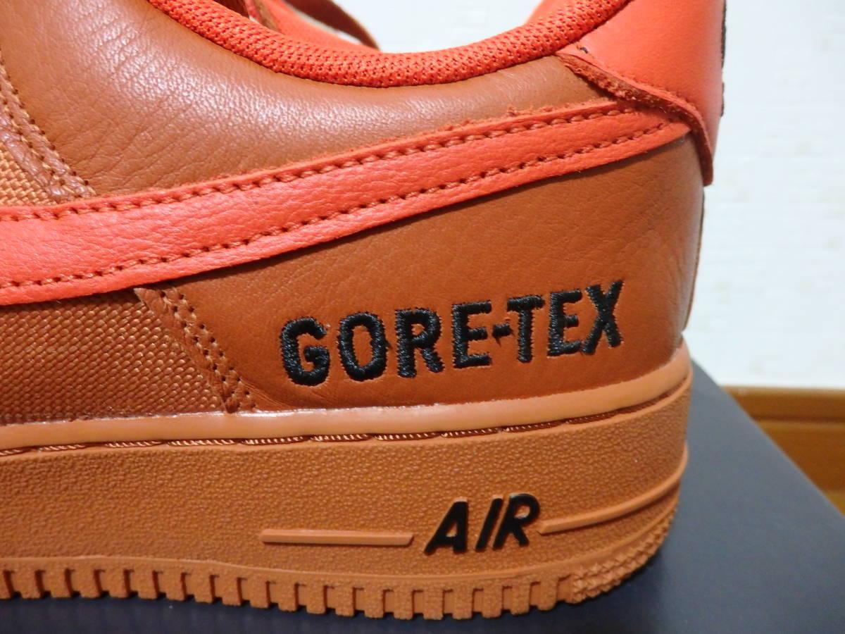 即決☆レア!限定!♪新品 NIKE ナイキスニーカー AIR FORCE 1 '07 LOW GTX GORE-TEX エアフォース1 ゴアテックス 26.5cm♪25周年♪35周年_画像3