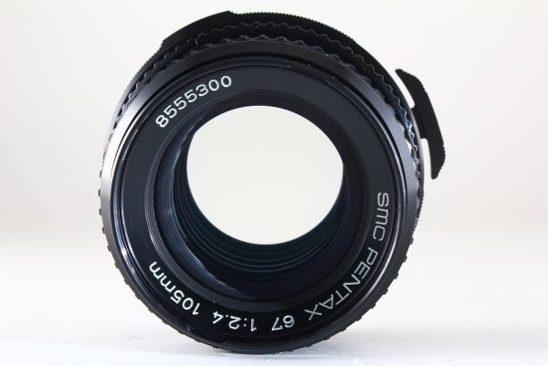 [AB- Exc]SMC PENTAX 67 105mm f/2.4 Lens Late Model for 6x7 67 II From JAPAN 6132_画像9