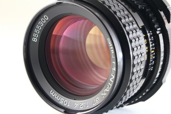 [AB- Exc]SMC PENTAX 67 105mm f/2.4 Lens Late Model for 6x7 67 II From JAPAN 6132_画像2