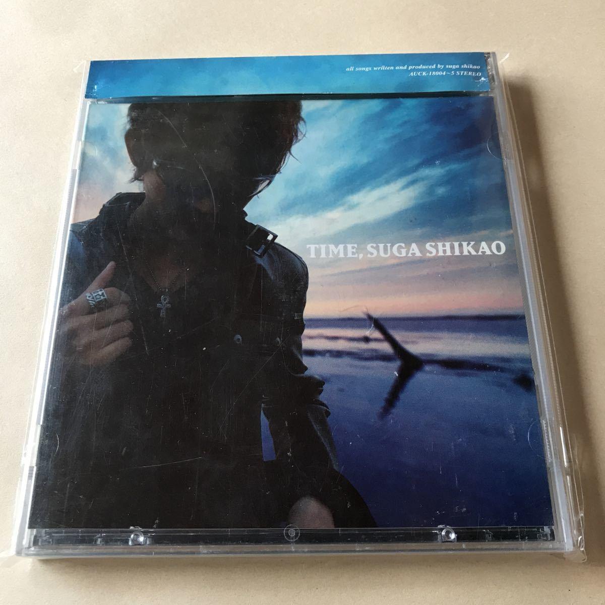 スガシカオ CD+DVD 2枚組「TIME」_画像1