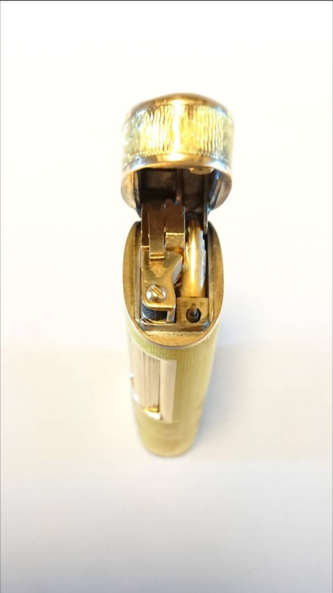 《期間限定価格》【希少】Royking ロイキング 18金 18K 七宝 アウタージャケット ヴィンテージ ガスライター 装飾品_画像9