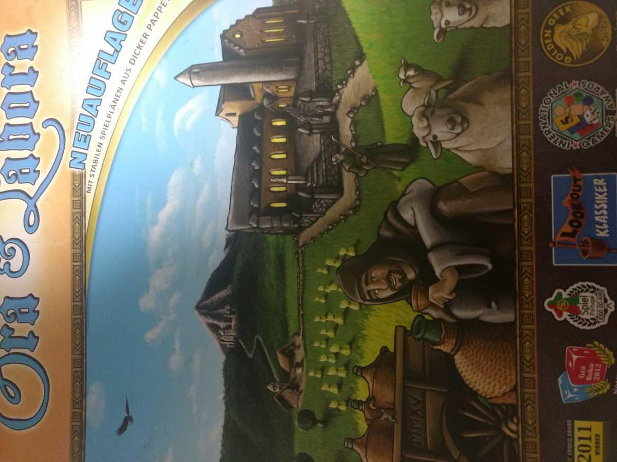 祈り 働け ウヴェローゼンベルク ボードゲーム_画像1