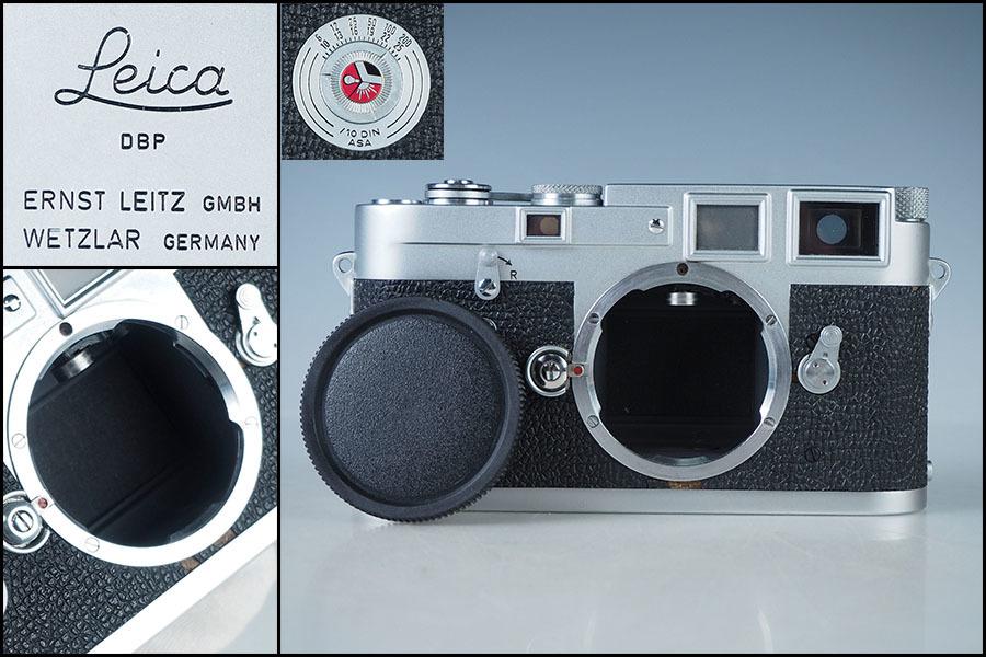 zh94_Leica Leitz ライカ M3 美品 シルバー ボディ フィルムカメラ レンジファインダー シリアル 78万番台 ダブルストローク