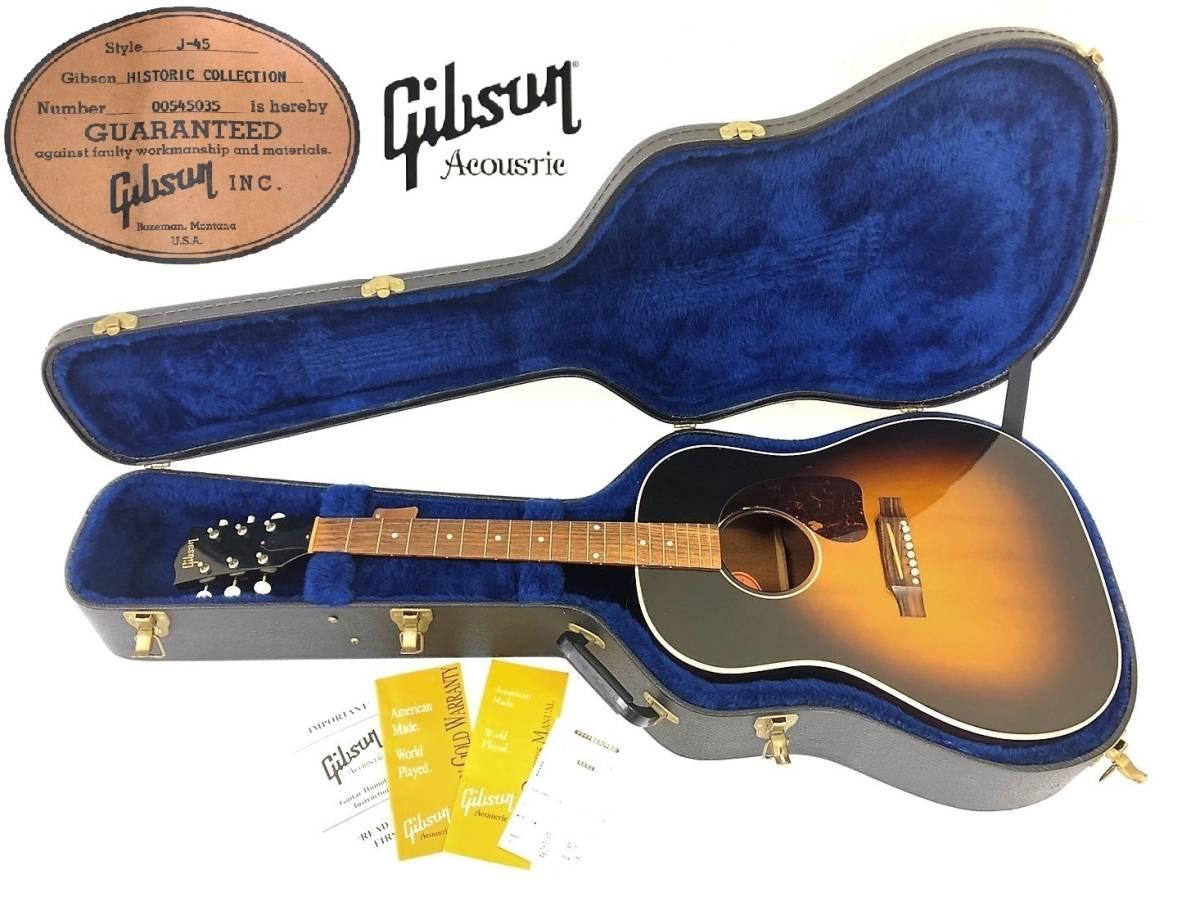 【Gibson ギブソン / 弦なし】J-45 2005年製 HISTORIC COLLECTION ヒストリック コレクション Acoustic アコースティック ギター ケース付