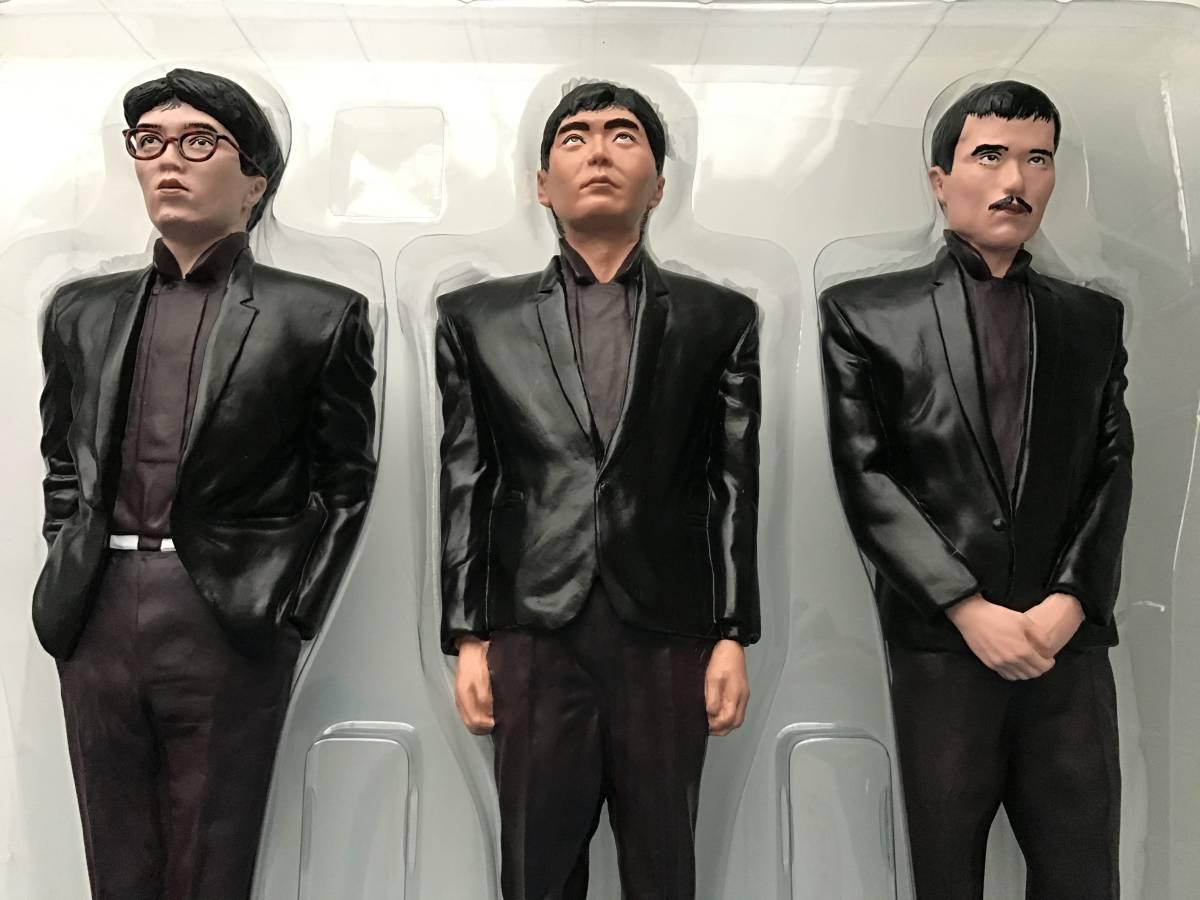 メディコム・トイ YMO 増殖人形3体セット 坂本龍一、細野晴臣、高橋幸宏