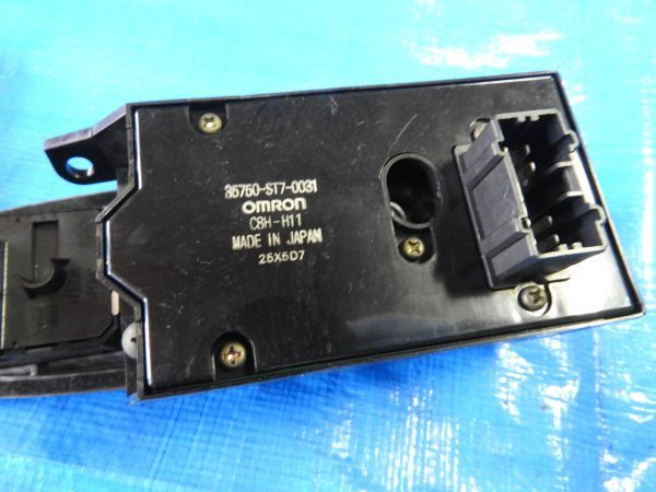 ⑥ DC2 インテグラ タイプR 3DR 96SP 96 スペック 純正 パワー ウインドゥ スイッチ 左右 ウインドー ASSY B18C DB8 S80 EK9 B16B B16A_画像4