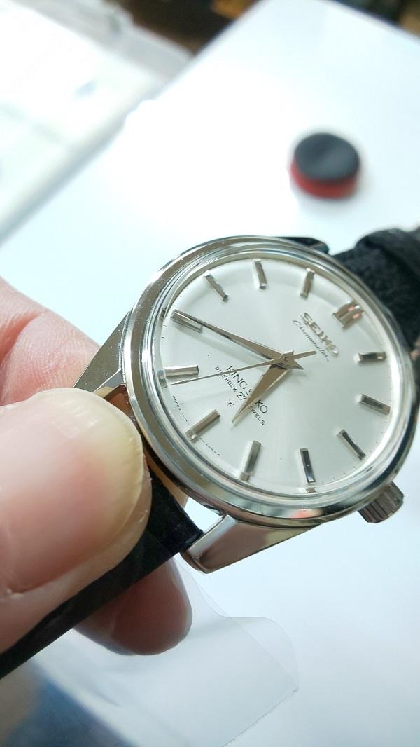 大野時計店 キングセイコー クロノメーター 49999 手巻 1965年1月製造 獅子メダル  希少 5102111_画像4