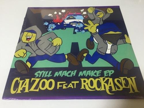 CIAZOO (C.I.A)★廃盤・限定12inch「STILL MACH MAKE EP」★ROCKASEN,TONAN,ISSAC,BUSHMIND,WDsounds_画像1