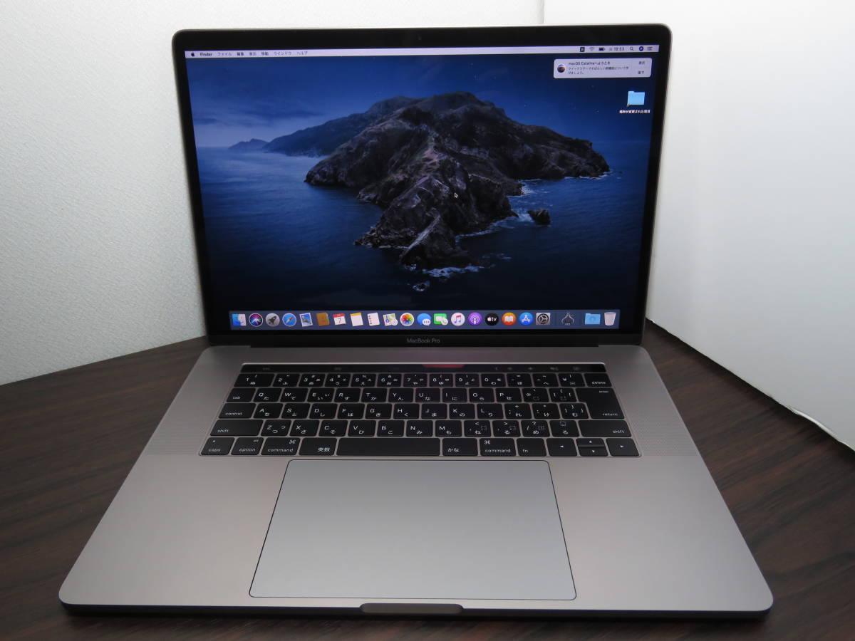 ★美品★ MacBook Pro (15-inch, 2016) MLH32J/A 最新macOS Catalina 高性能Core i7-2.6G