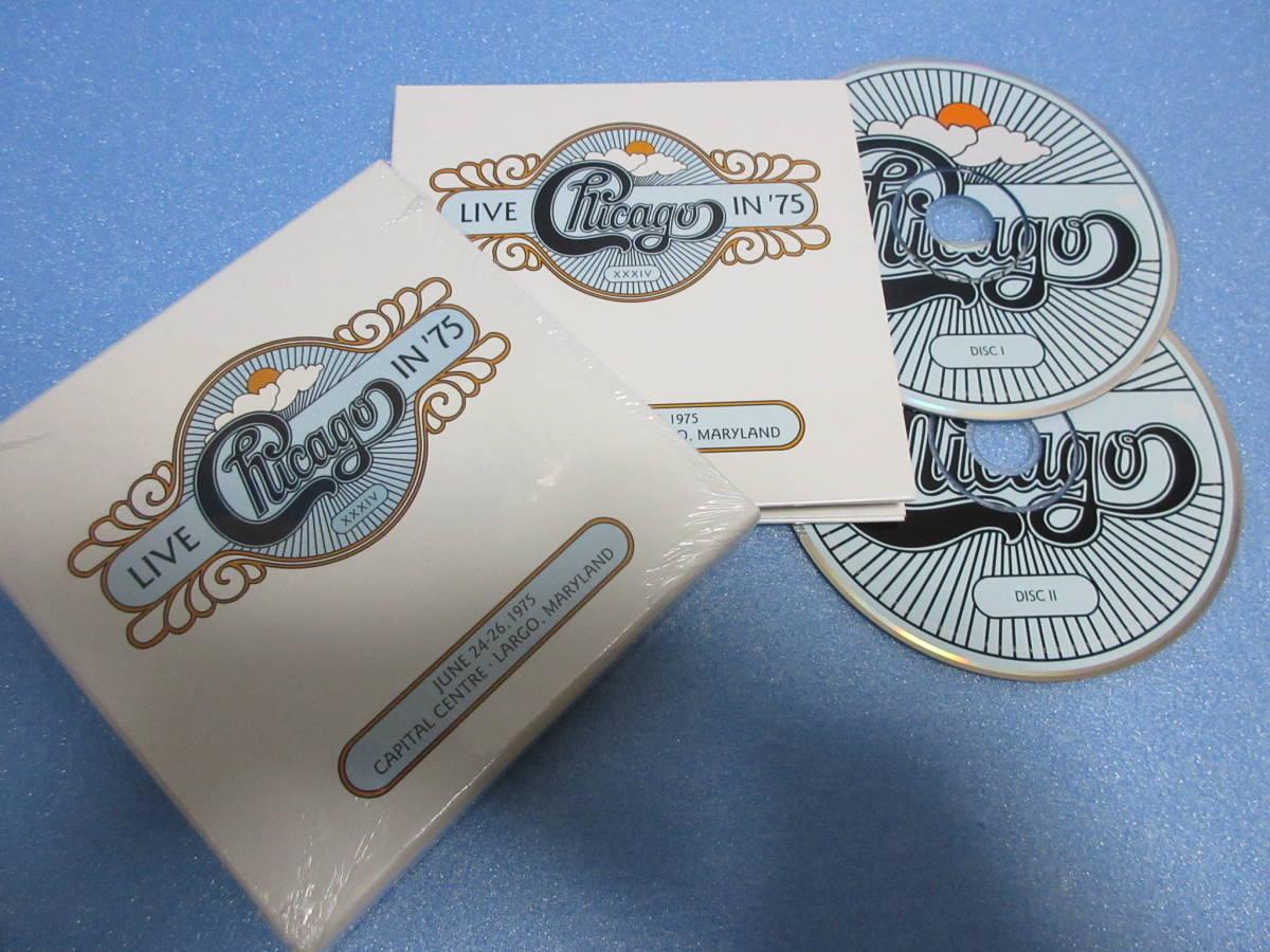 ★CHICAGO / LIVE IN '75★シカゴ 2CD BOX Rhino Handmade 輸入盤国内仕様 英文解説日本語訳付_シカゴ 2CD BOX Rhino Handmade