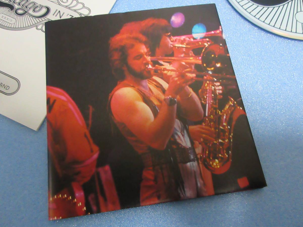 ★CHICAGO / LIVE IN '75★シカゴ 2CD BOX Rhino Handmade 輸入盤国内仕様 英文解説日本語訳付_ポスター、未使用