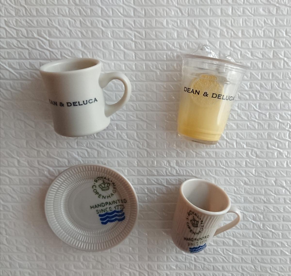 ペプシおまけ キッチンマグネット ディーンアンドデルーカ DEAN&DELUCA + ロイヤルコペンハーゲン 計4点