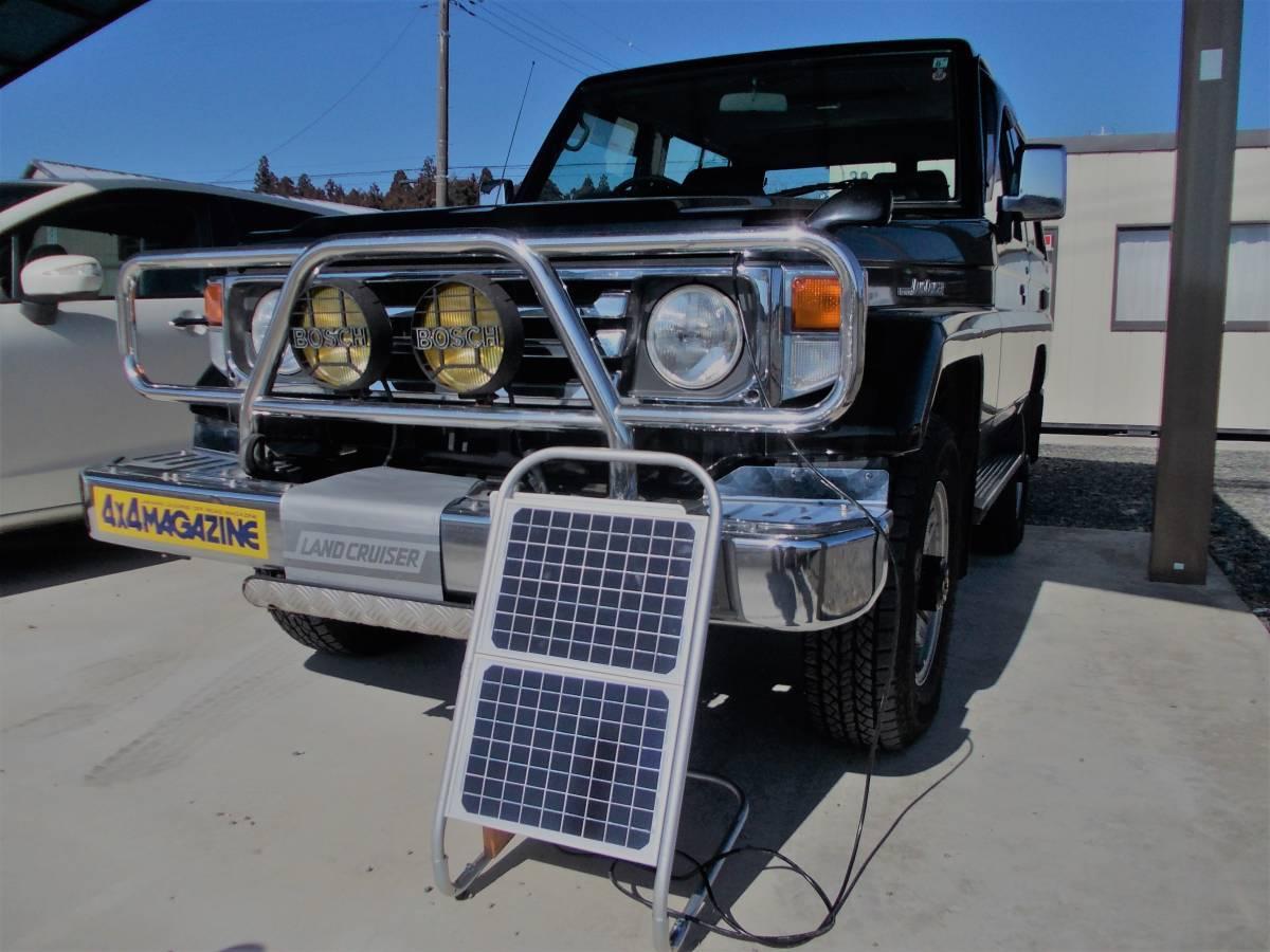 電源不要の充電器、TYPE B 12V-24Vソーラー充電器(365日つないでおくだけでバッテリー上がりありません。面倒な延長コード不要です)_電源不要つなぐだけで充電中(満充電維持)