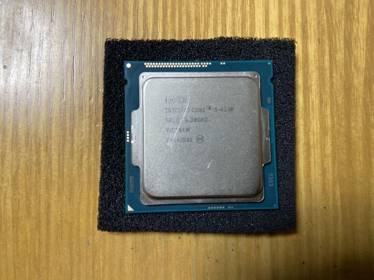 【動作確認済み】Intel Core i5-4590 3.3GHz CPU