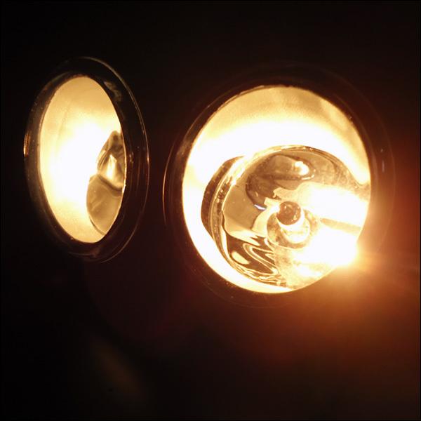 送料無料 フォグランプキット トヨタ汎用 純正タイプ ガラスレンズ ハロゲンバルブ付属/21_画像4
